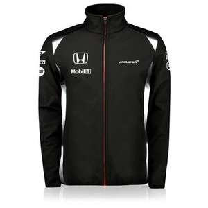 Black Friday Sale @ McLaren Store Online - 2016 SoftShell Jacket £36.00 + £4.95 PP