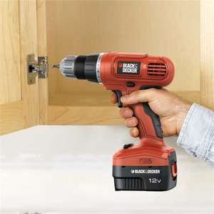 BLACK & DECKER EPC12CA 12v Ni-Cd Cordless Drill Driver only £19 Tesco if you collect in store.