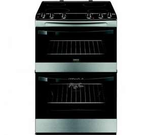 Black Friday - Hot Oven Deal...ZANUSSI ZCV66030XA Electric Ceramic Cooker - Stainless Steel- £299 was £549 @ Currys