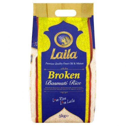 Laila Broken Basmati Rice 5kg  £2.50 @ Morrisons was £3.20.  50p/kg