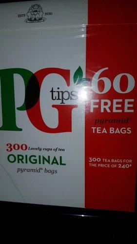 300 PG Tips £3.49 instore @ Farm foods
