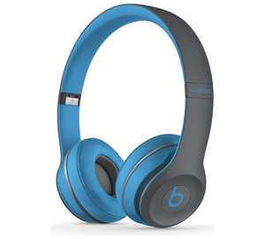 Argos - Dre Beats Solo 2 Wireless Headphones - Blue - £149.95