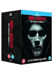 Sons Of Anarchy - Complete Seasons 1-7 [Blu-ray] [Region Free] £31.99 @ Amazon (Was £39.99)