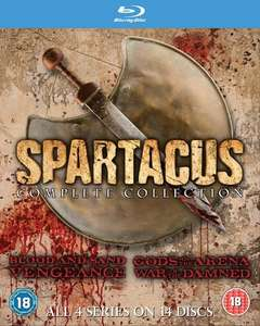 Spartacus Complete collection Blu-ray at Zoom - £15.09