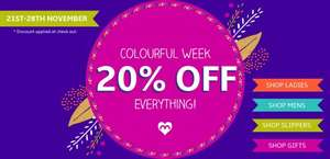 20% off everything @ Moshulu (auto applied)