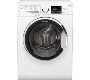 HOTPOINT Smart+ RSG 964 JX 9KG 1600 Spin Washing Machine – White £329 @ Currys