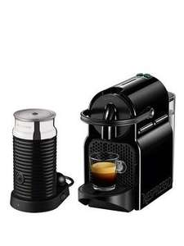 Nespresso Inissia & Aeroccino 3 Coffee Machine under £100 - £99.99 at Littlewoods using code