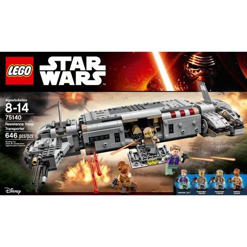 Lego Star Wars Resistance Troop Transporter 75140  £30  & LEGO TIE Advanced Vs A-Wing 75150  £40 @ Amazon