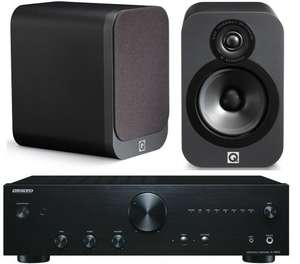 ONKYO A9010 & Q Acoustics 3020 Graphite for £309 on Richer Sounds. RRP £389