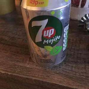 7UP Mojito cans £0.10 in Home Bargains instore