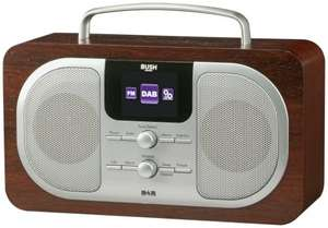 Bush Wood DAB Radio  £16.99  Argos/eBay