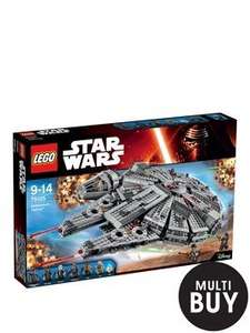 Lego Star Wars Millennium Falcon £77.99 with code on Littlewoods