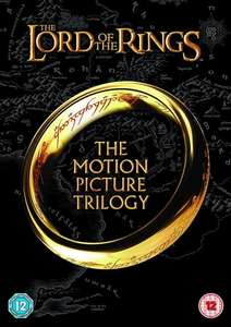 The Lord Of The Rings Trilogy: Theatrical Cut (DVD) £3.99 @ Ebay (The Entertainer)