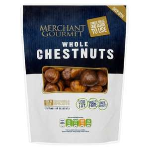 Merchant Gourmet Whole Chestnuts (180g) was £2.00 now £1.00 (Ideal for Christmas dinners)
