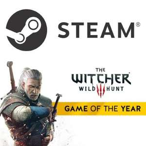 The Witcher 3: Wild Hunt GOTY (STEAM) - £20.99