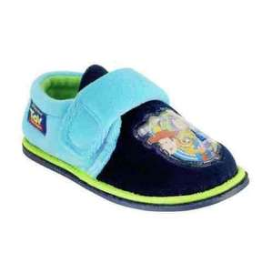 Toy story slippers (infant 5-9) £2.99 /Toy story (plus others)pj & robe set £12.49 Argos