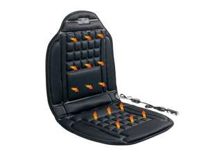 ULTIMATE SPEED HEATED CAR SEAT COVER ONLY £9.99 LIDL