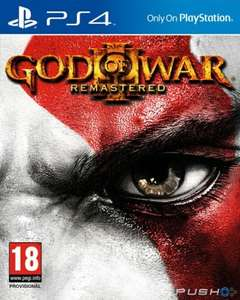 God of war 3 Remastered Ps4 PSN  £6.49 for ps plus subscribers