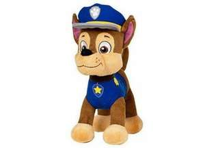 "15"" Paw Patrol Plush Toys including CHASE, SKYE, ROCKY, RUBBLE, ZUMA £15.99 bargainmax"