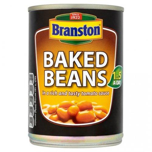 Branston Baked Beans 4 pack 410g 69p @ homebargains nationwide