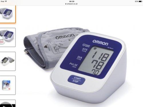 Omron M2 basic blood pressure monitor £14.99  (Prime) / £19.74 (non Prime) @ Amazon