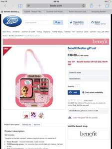 Benefit Star Gift: Benefit Besties Gift Set £30 at Boots (worth £60)