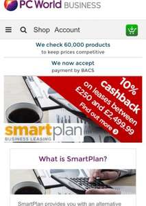 £448 extra free when leasing £3000 for business at Currys Pcworld (smartplan business leasing) £115/m