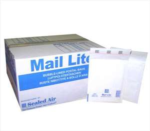 "200 Mail Lite - C/0 - JL0 - Jiffy Padded Envelopes 150 x 210mm - 6"" x 8.5"" (2 Boxes of 100) - White - £10.30 @ Toolville / Amazon"