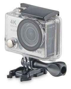 "4K (Interpolated) Action Camera with 2"" display screen, WiFi and 32GB card £49.99 Aldi"