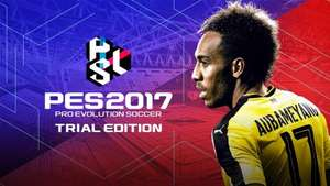 PES 2017 trial edition free to play on all formats - Available on ps3, ps4, xb1, pc.