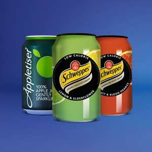 Free Schweppes or Appletiser drink @ Boots via o2 Priority