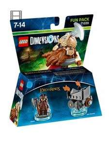 older lego dimensions fun packs down to £7.99 @ very