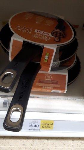 Jamie Oliver Tefal frying pan Set of 2 £6.40 Tesco instore