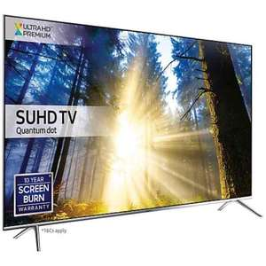 "Samsung UE55KS7000 SUHD HDR 1,000 4K Ultra HD Quantum Dot Smart TV, 55"" £979 @ John Lewis"