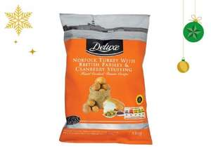 DELUXE Hand Cooked Christmas Crisps (150g) ONLY 99p @ Lidl