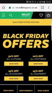 up to 30% off storewide at Millet Sports online and instore - Black Friday