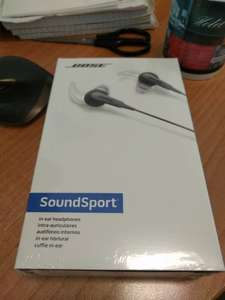 Bose Black Friday Deal Sound Sport in Black In Earphones - £39 instore @ BOSE (Manchester)