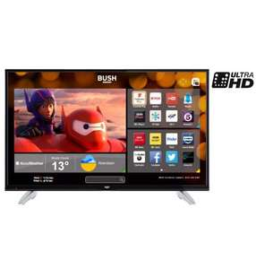 Bush 49 inch 4K Ultra HD Smart TV with Freeview Play £279.99 !! Argos