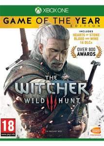 The Witcher 3 Wild Hunt - Game of the Year Edition (XO/PS4) - £21.69 Delivered @ Base