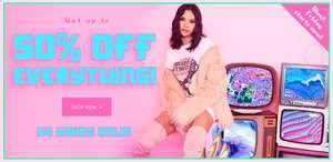 Black Friday at PrettyLittleThing, up to 50% off everything