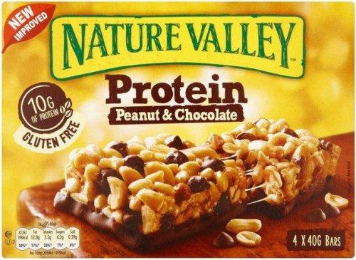 Nature Valley Protein Peanut & Chocolate (4 x 40g) was £2.40 now £1.50 @ Sainsburys