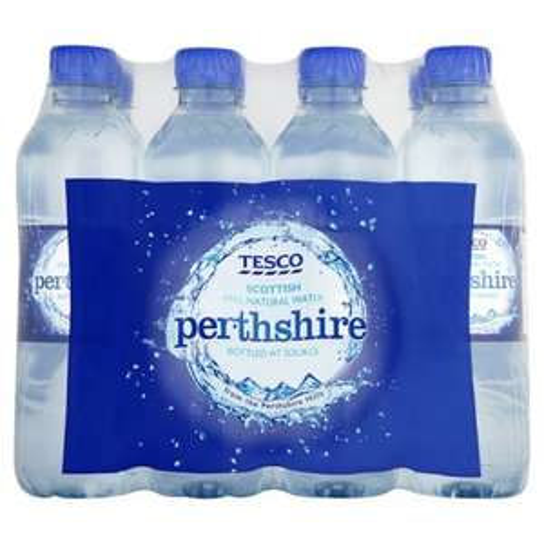 Tesco Perthshire Sparkling Water 6 x 500ml - 38p instore @ Tesco
