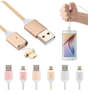 AGM Micro USB Magnetic Adapter Charger Charging Cable £7.99 delivered BOGOF - Dispatched from and sold by sanzoom