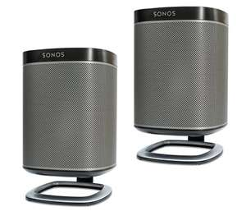 Flexson Sonos Play 1 Desk Stands - Pair (White/Black) - Amazon - £18.99 prime / £23.74 non prime