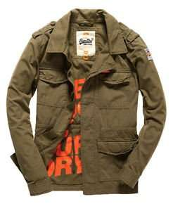 New Mens Superdry Rookie Military Blazer Deepest Army on ebay