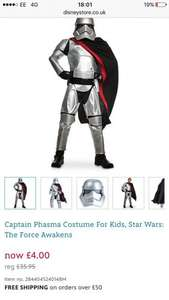 Star Wars Costume £4  / £7.95 delivered @ Disney Store