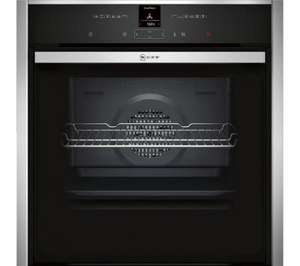 Neff pyrolitic slide & hide oven B57CR22N0B and £200 retail spending card £657 at Currys