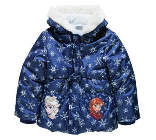 Disney Frozen Fur Trim Puffa Coat £9.99 @ argos
