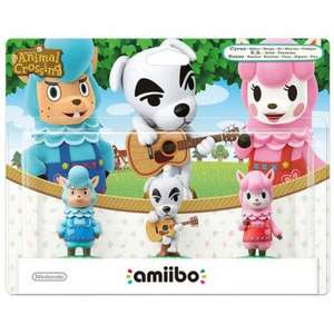 Animal Crossing Amiibo triple pack Reese, KK Slide, Cyrus £9.85 @ ShopTo