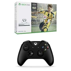 Xbox one s fifa 17 and extra controller at Amazon for £229.99
